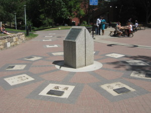 Neka'new'ak, Aboriginal Walk of Honour by Spointe